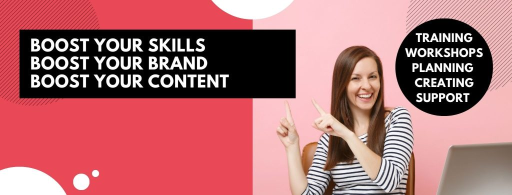 Miss Digital Media Boost Membership - Boost Your Skills Boost Your Brand Boost Your Content