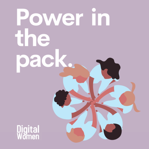 Digital Women Power in the Pack
